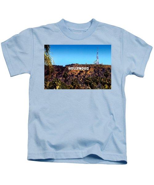 Hollywood Sign Kids T-Shirt