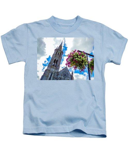 Holy Cross Church Steeple Charleville Ireland Kids T-Shirt