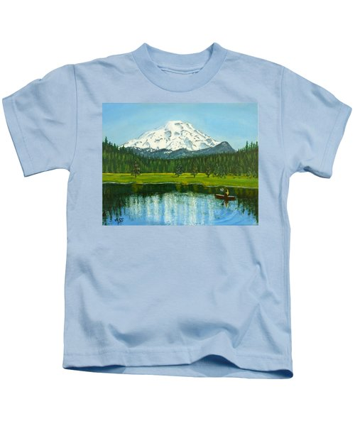 Hosmer Lake Kids T-Shirt