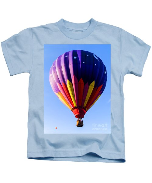 Hot Air Ballooning In Vermont Kids T-Shirt