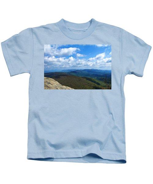 Humpback Rocks View North Kids T-Shirt