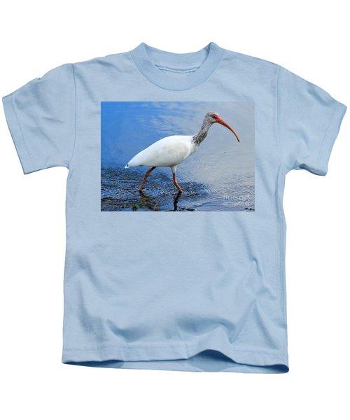 Ibis Visitor Kids T-Shirt by Carol Groenen