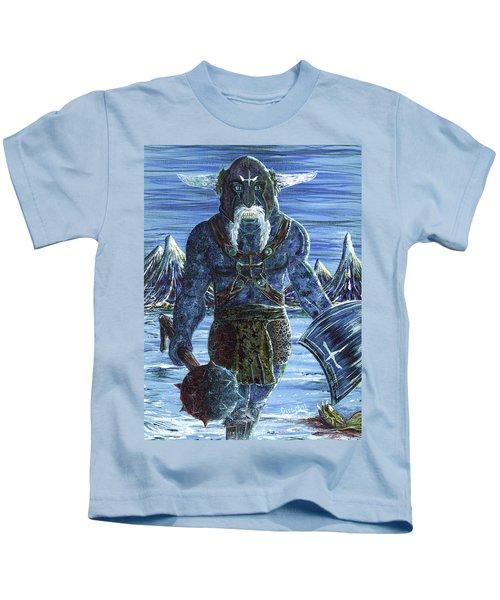 Ice Viking Kids T-Shirt