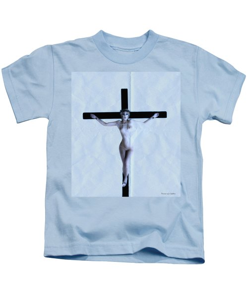 Immerse Crucifix Kids T-Shirt