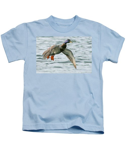 In For A Landing Kids T-Shirt