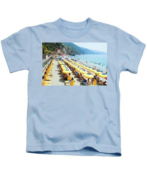 Italy Cinque Terre Monterosso - Kids T-Shirt