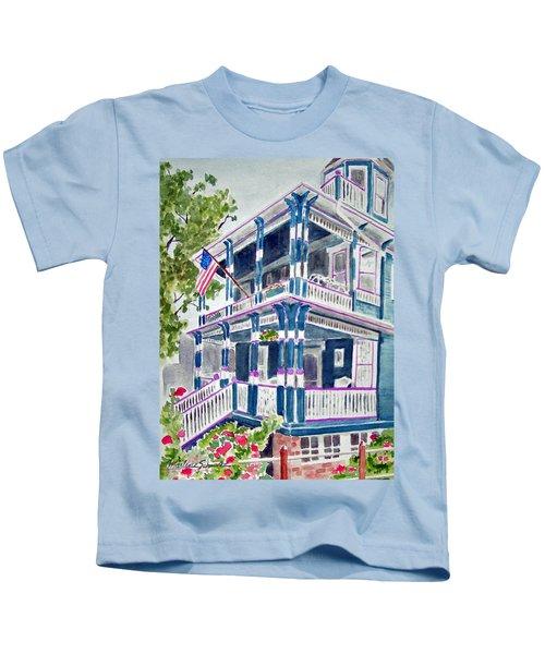 Jackson Street Inn Of Cape May Kids T-Shirt