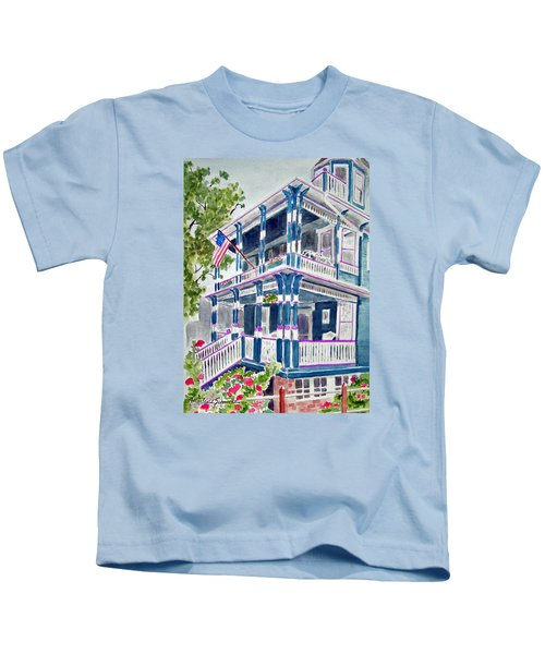 Jackson Street Inn Of Cape May Kids T-Shirt