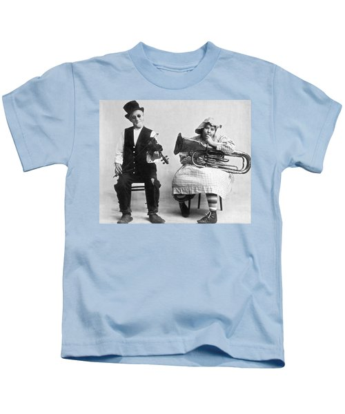Jimmie And Blanche Creighton Kids T-Shirt