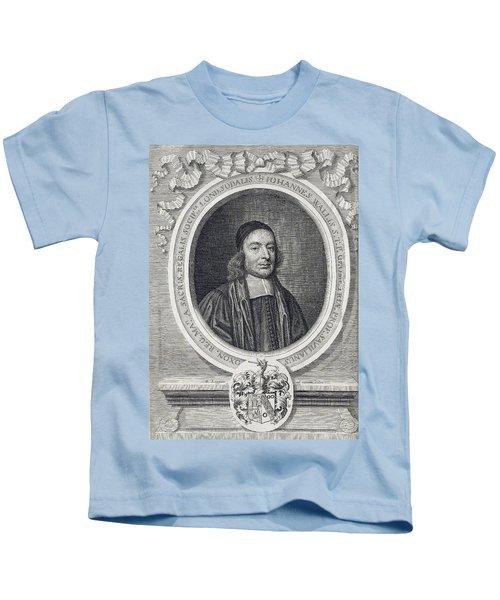 John Wallis, English Mathematician Kids T-Shirt