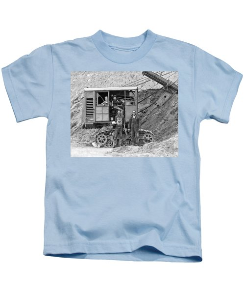 Kids At The Controls Kids T-Shirt