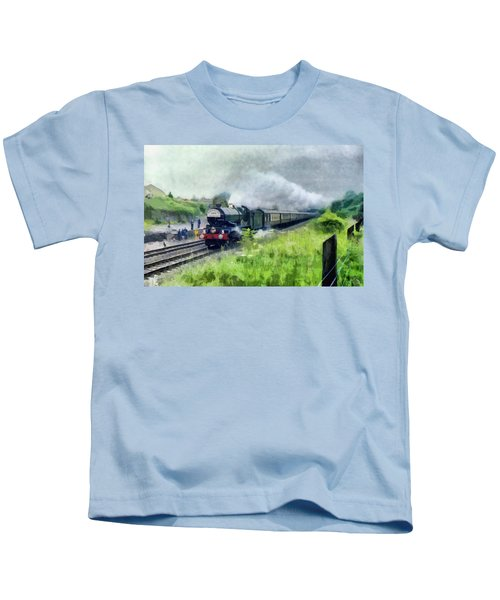 'king George V' Locomotive Kids T-Shirt