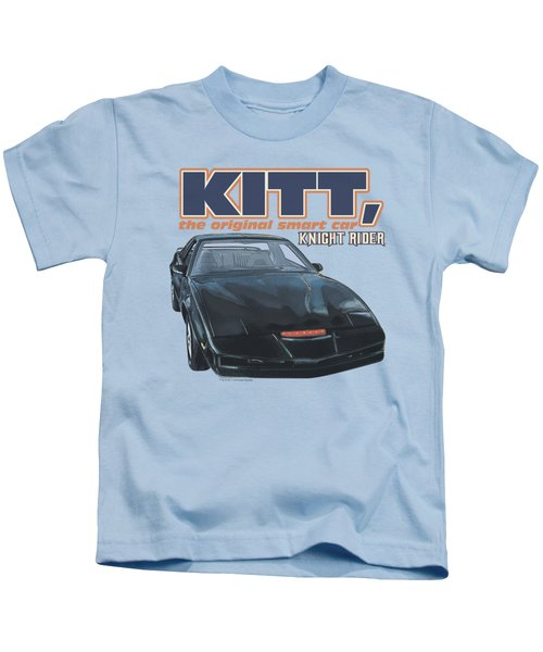 Knight Rider - Original Smart Car Kids T-Shirt