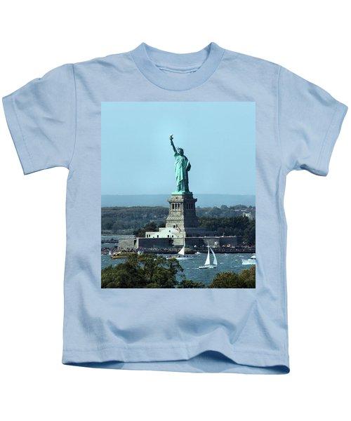 Lady Liberty Kids T-Shirt