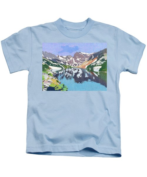 Lake Isabelle Colorado Kids T-Shirt