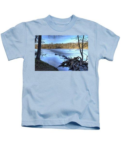 Landsford Canal-1 Kids T-Shirt