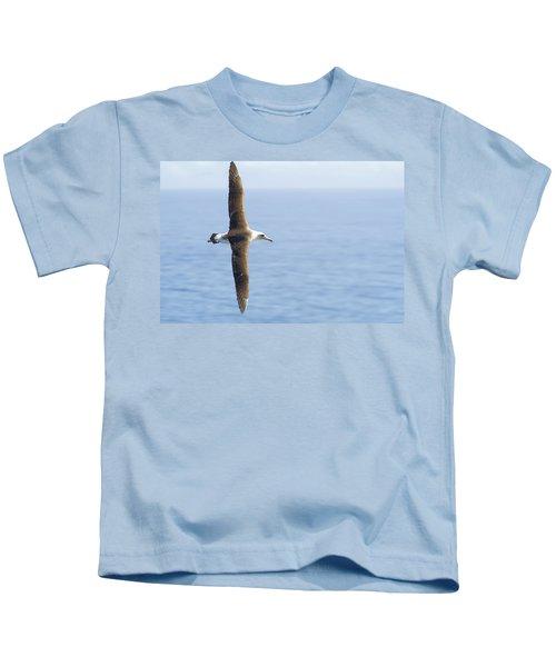 Laysan Albatross No 1 - Kilauea - Kauai - Hawaii Kids T-Shirt