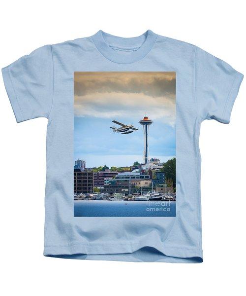 Leaving Seattle Kids T-Shirt