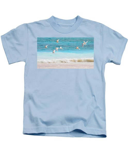 Like Birds In The Air Kids T-Shirt