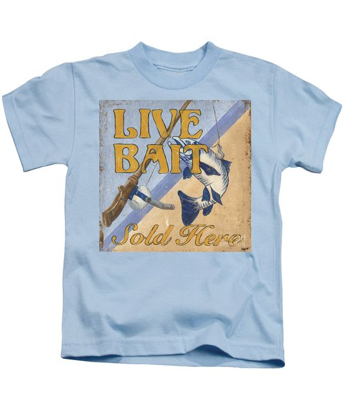 Live Bait Kids T-Shirt