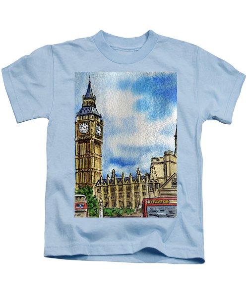 London England Big Ben Kids T-Shirt