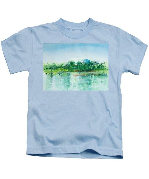 Long Beach Convention Center Arena Kids T-Shirt