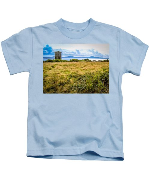 Kids T-Shirt featuring the photograph Lord Bandon's Tower In Ireland's County Cork by James Truett