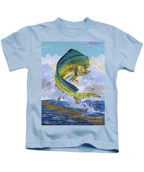 Mahi Hookup Off0020 Kids T-Shirt