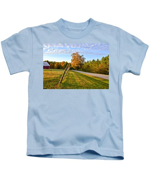 Maine Morning Kids T-Shirt
