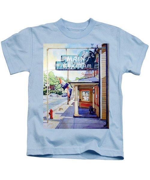 Main's Ice Cream Kids T-Shirt