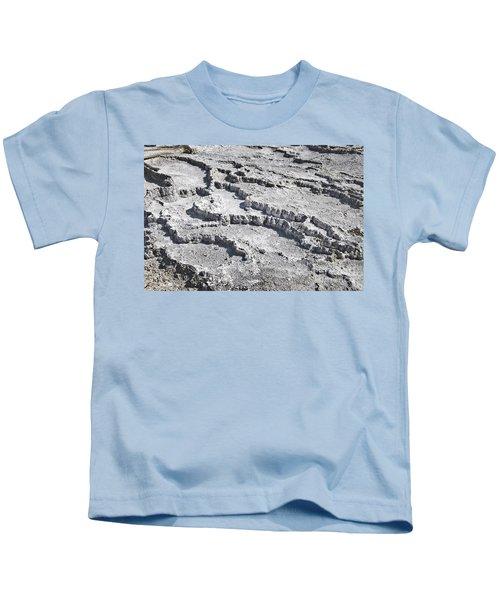 Mammoth Terraces Detail Kids T-Shirt