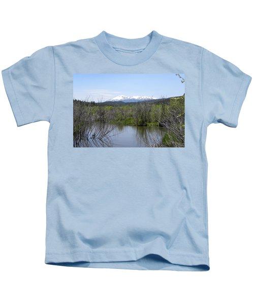 Lake Manitou Sp Woodland Park Co Kids T-Shirt