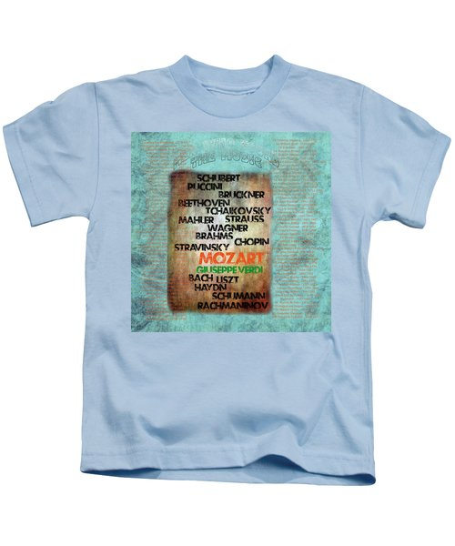 Men Who Found The Music Kids T-Shirt