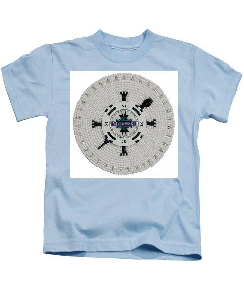 Meskwaki White Kids T-Shirt