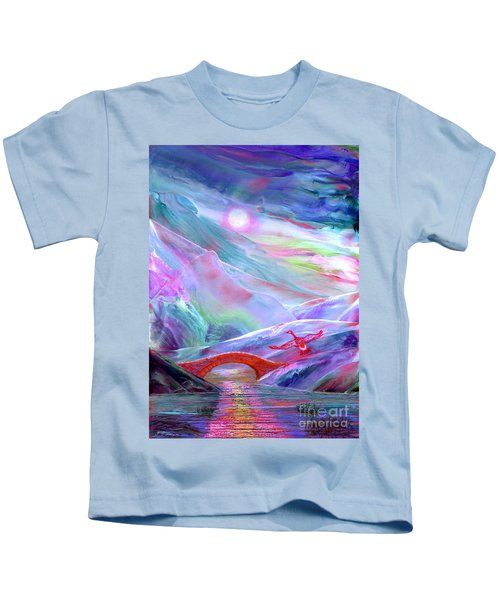 Midnight Silence, Flying Goose Kids T-Shirt