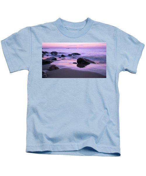 Millennium Sunrise Singing Beach Kids T-Shirt