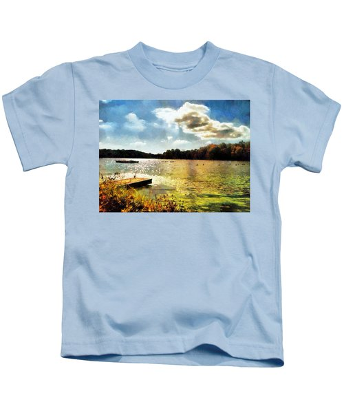 Mohegan Lake Gold Kids T-Shirt