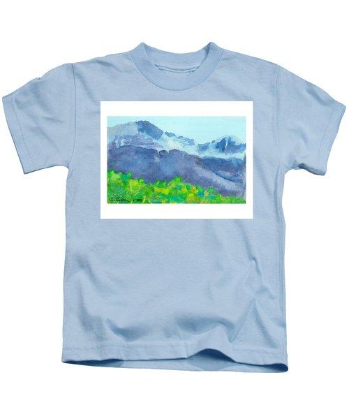 Montana Mountain Mist Kids T-Shirt