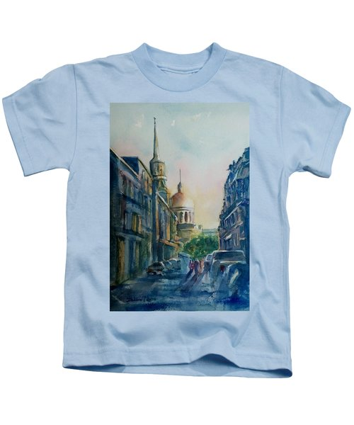 Montreal Skyline Kids T-Shirt