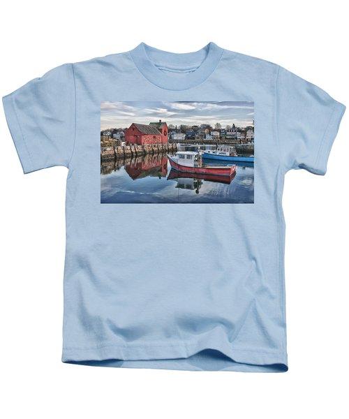 Motif 1 Sky Reflections Kids T-Shirt