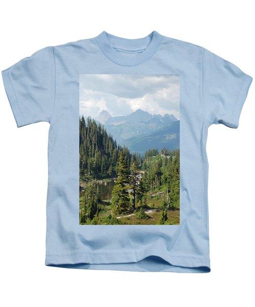 Mount Baker Area Washington Kids T-Shirt
