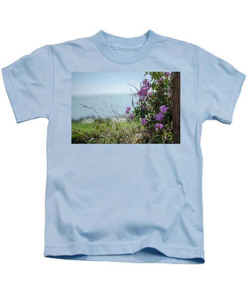 Mount Of Beatitudes Kids T-Shirt