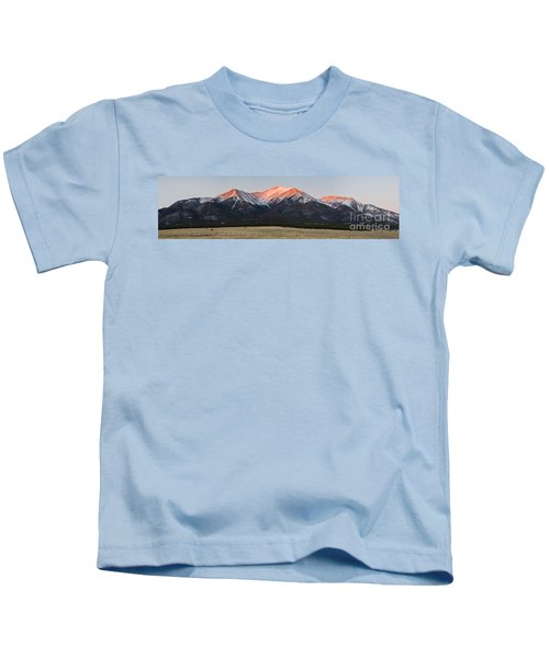 Mt Princeton Panorama Kids T-Shirt