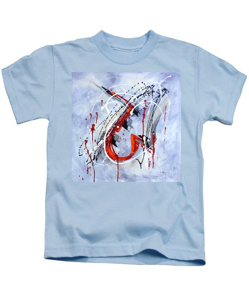 Musical Abstract 005 Kids T-Shirt