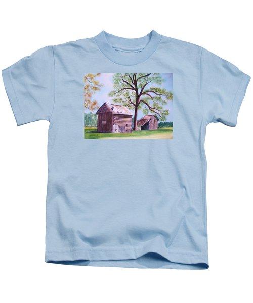 Nc Tobacco Barns Kids T-Shirt