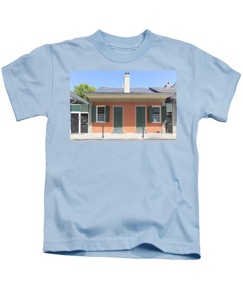 New Orleans Architecture 23 Kids T-Shirt