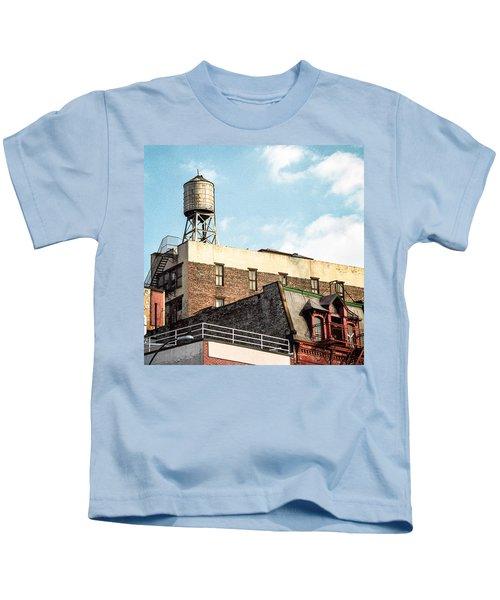 New York City Water Tower 2 Kids T-Shirt