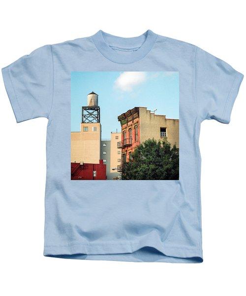New York Water Tower 3 Kids T-Shirt