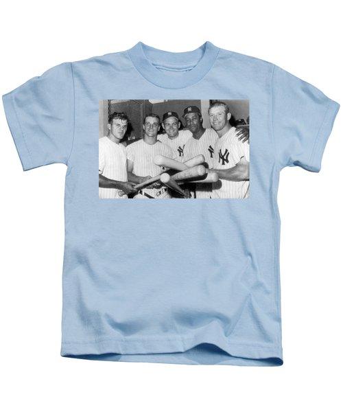 New York Yankee Sluggers Kids T-Shirt