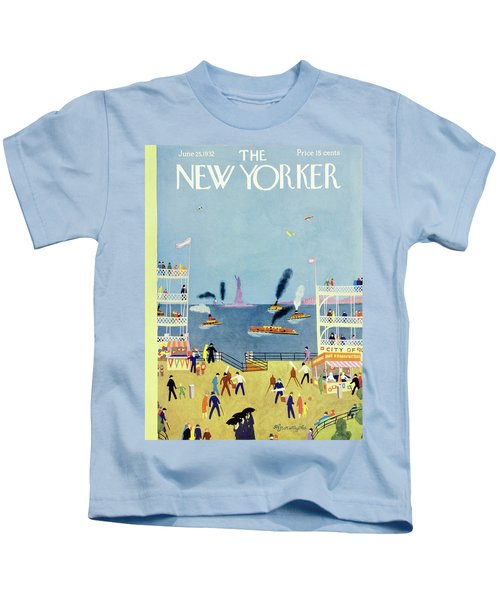 New Yorker June 25 1932 Kids T-Shirt